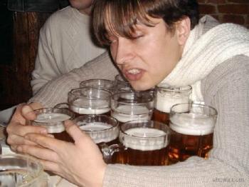 Всичката бира е за мен