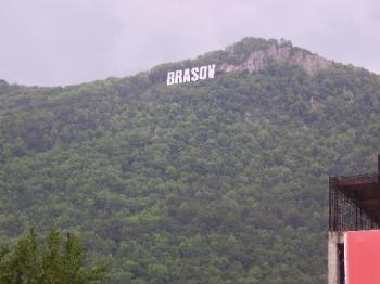 град Брашов, Румъния, близо до двореца на граф Дракула...който е македонец