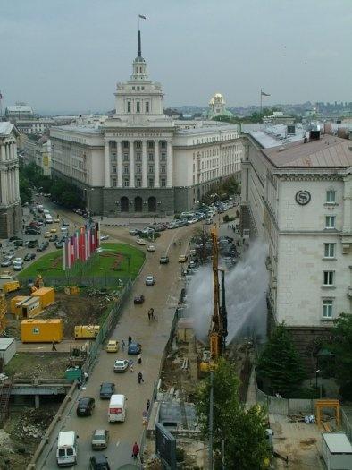 новите фонтани в София