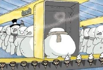 От къде идва сладоледа?
