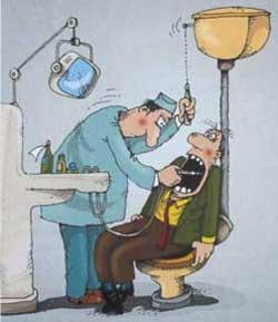 На зъболекарския стол