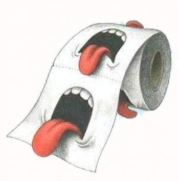 Идея за тоалетна хартия