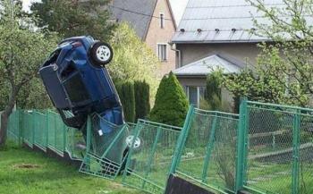 Каскада с ограда