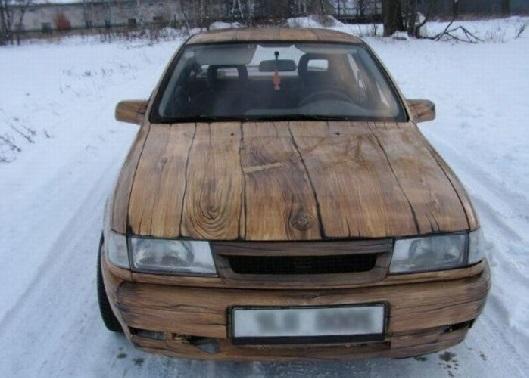 Дървена кола