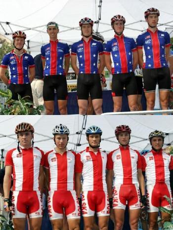 Защо колоездачите носят черни клинове!