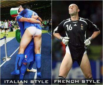 Италянски стил и френски стил