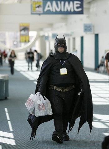 фен на Батман