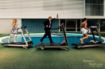 реклама на фитнес оборудване