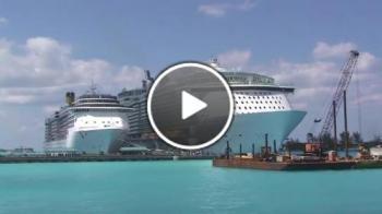 Ето така изглежда най-големият кораб в света