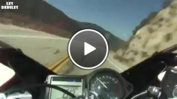 Тръпката да караш мотор и да се разминеш на косъм от смъртта