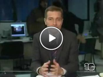 Бой на водещи в ефир на Новините