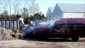 Нов вид хоби - разбиване на коли