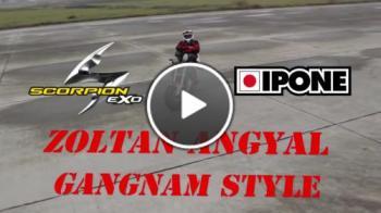 Gangnam Style върху мотор